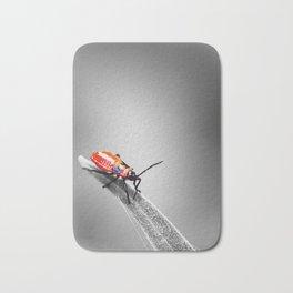 Red Bug Bath Mat
