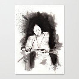 Derrotar al enemigo (Sketch version) Canvas Print