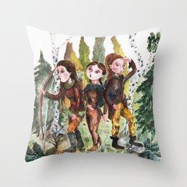 Sarmatian sisters Throw Pillow