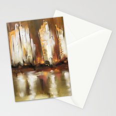 Brown City Stationery Cards