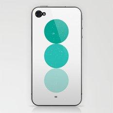 turquoise i 001 iPhone & iPod Skin