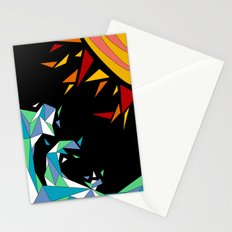 Sun and Wave Stationery Cards