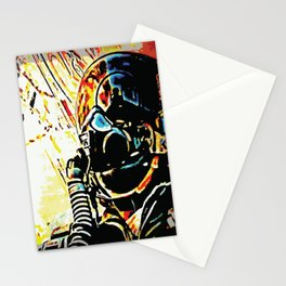 Fighter Pilot's View of the Combat Ground Stationery Cards