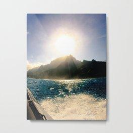 Na Pali Coast, Kauai Metal Print