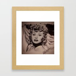 Darling, I'm Ready! Framed Art Print