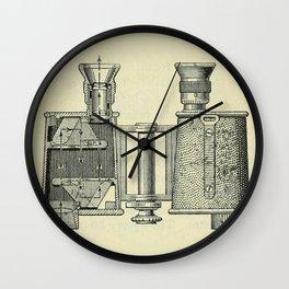 Binoculars Wall Clock