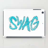 swag iPad Cases featuring Swag by Creo