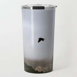 Free as a bird flying through the mountains, Big Bend - Landscape Photography Travel Mug