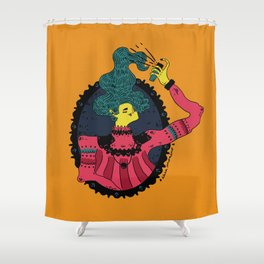 Hairspray Shower Curtain