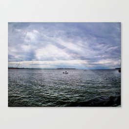 A Day on the Water Canvas Print