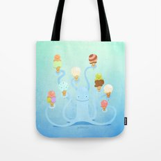 Ice Cream Power Tote Bag