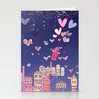 happiness Stationery Cards featuring happiness by Bunny Noir