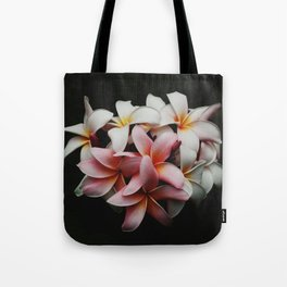 Flowers In The Dark Tote Bag