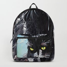 My little cat - kitty - animal - by LiliFlore Backpack