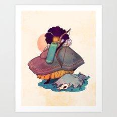 Sisters 1/5 Art Print
