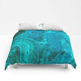 Teal Agate Comforters