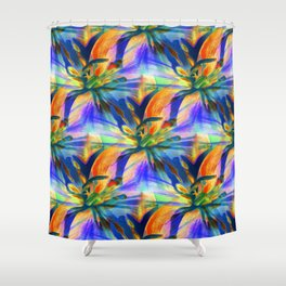 Floral  Exotica 4 Shower Curtain