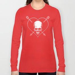Eros & Thanatos (Joli Rouge Red Flag) Long Sleeve T-shirt