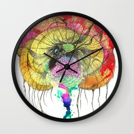 Heavy Thoughts Hummingbird Wall Clock