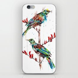 2 tuis iPhone Skin