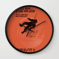 gravity Wall Clocks featuring GRAVITY by Resistance