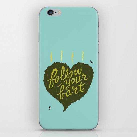 Follow Your Fart iPhone & iPod Skin