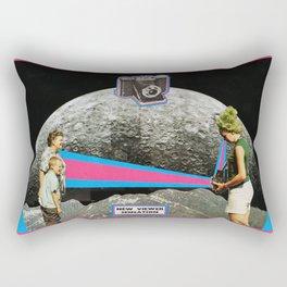 NEW VIEWER SENSATION Rectangular Pillow
