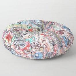 To Market To Market Floor Pillow