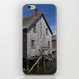 Lunenburg Dory Shop iPhone Skin