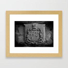 COAT OF ARMS Framed Art Print