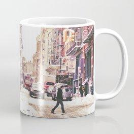 New York City Snow Soho Coffee Mug