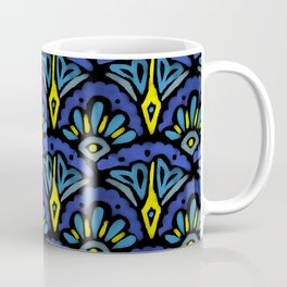 Watercolor Abstract Pattern Coffee Mug