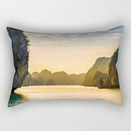 Cyrcle Lake Rectangular Pillow