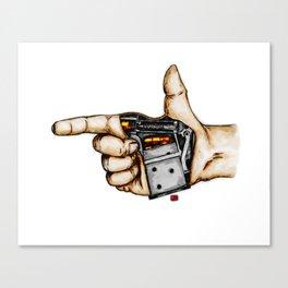 The Handgun Canvas Print