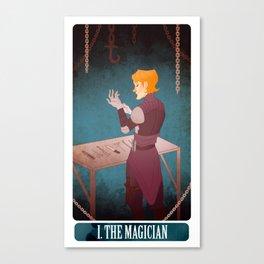 tarot - the magician. Canvas Print