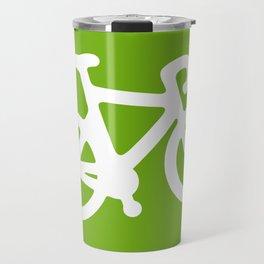 Green Bike Travel Mug
