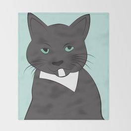 Meow, meow. Throw Blanket