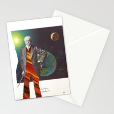 Professor OrangePants Stationery Cards
