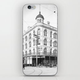Chess, Checker, and Whist Club, New Orleans 1903 iPhone Skin