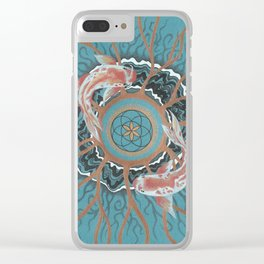 Koi of Chaos Clear iPhone Case