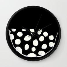 Minimalist Bowl B&W Wall Clock