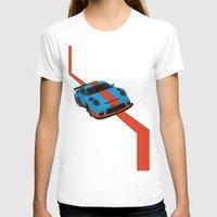 porsche T-shirts featuring Gulf Porsche by SABIRO DESIGN