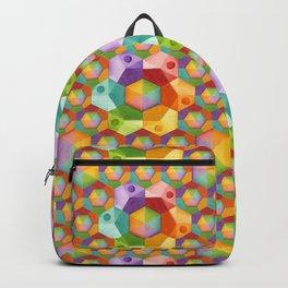 Rainbow Hexagons Backpack