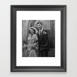 """""""Pat & Elzee"""" Framed Art Print"""