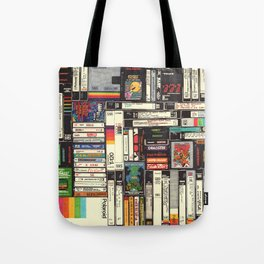 Cassettes, VHS & Games Tote Bag
