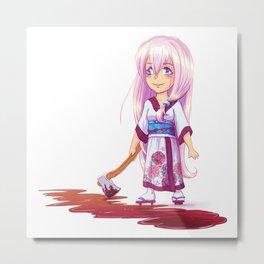 Cute and dangerous Metal Print