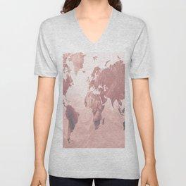 MAP-Freedom vibes worldwide  IΙ Unisex V-Neck