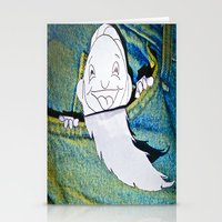 pocket Stationery Cards featuring Pocket People by mark jones
