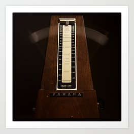 Be Still My Beating Metronome. Art Print