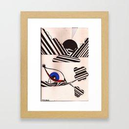 eye-bird's view Framed Art Print